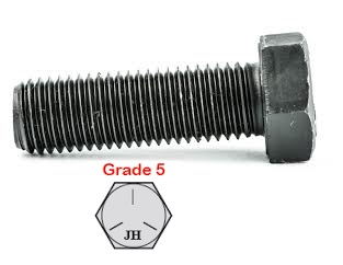 G5 IMPERIAL UNF PLAIN HEX BOLTS (54)