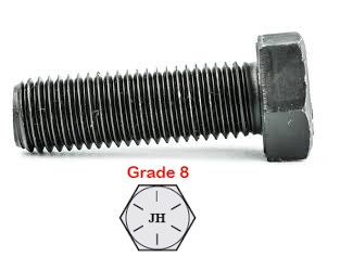 G IMPERIAL UNF PLAIN HEX BOLTS (10)