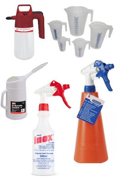 MEASURING JUGS &amp SPRAY BOTTLES (7)