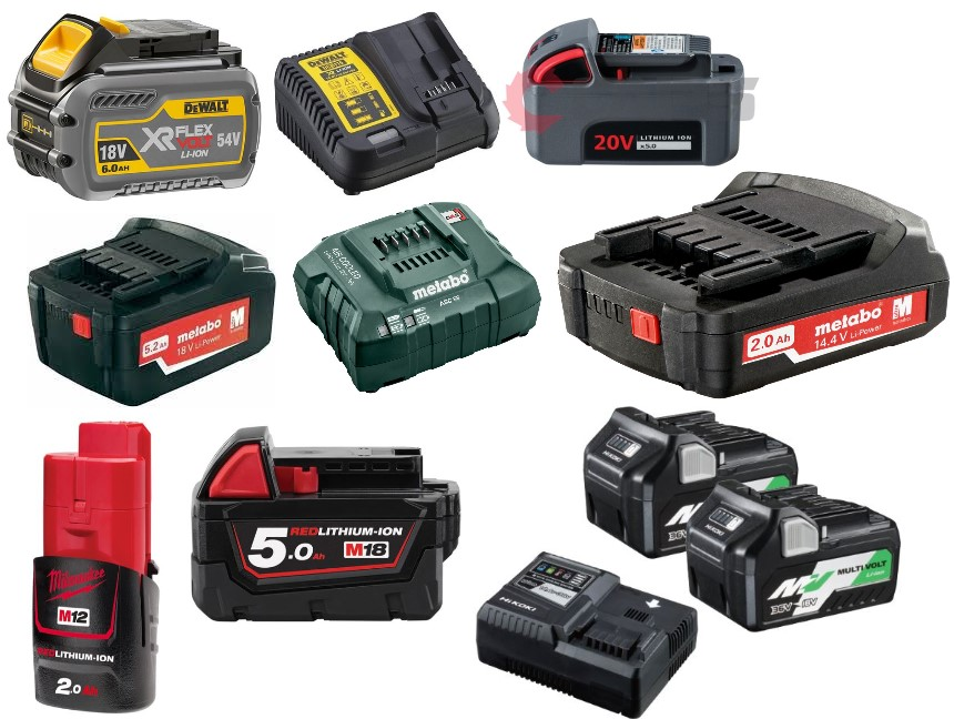 BATTERIES AND CHARGERS (41)